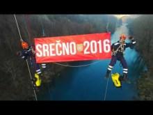 Embedded thumbnail for SREČNO 2016 VAM ŽELI JZGRD GENG